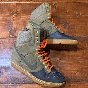 NIKE Dunk Sky Hi Sneaker Boot (Duck Boot)